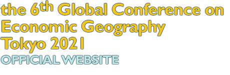 the 6th Global Conference on Economic Geography Tokyo 2021